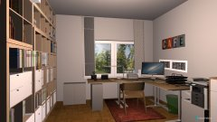 room planning Sandras Büro in the category Home Office