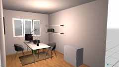 room planning Unser Arbeitszimmer in the category Home Office