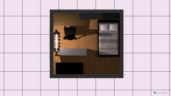 room planning vorlage zimmer in the category Home Office