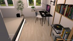 room planning WG2 Zimmer 3 in the category Home Office
