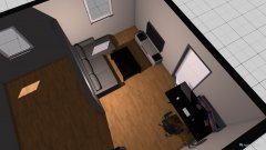 room planning Zimmer 1 in the category Home Office