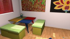 room planning Grundrissvorlage Quadrat in the category Kid's Room