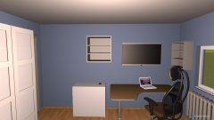 room planning Zimmer Paul variante 2 in the category Kid's Room