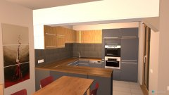 room planning Cuci-salotto 3 in the category Kitchen
