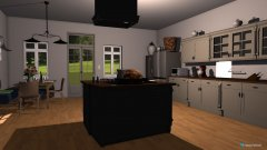 room planning Grundrissvorlage Küche in the category Kitchen