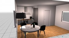 room planning Grundrissvorlage L-Form in the category Kitchen