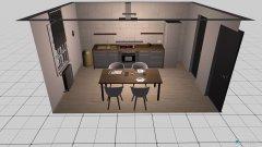 room planning Grundrissvorlage Quadrat in the category Kitchen