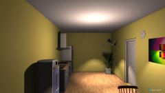 room planning kitchen by milica roomeon 3D in the category Kitchen