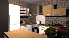 room planning Kitchen1 in the category Kitchen