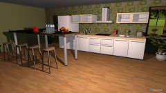 room planning Kochbereich in the category Kitchen