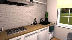 room planning kuchnia 2 in the category Kitchen