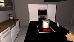 room planning Küche 2 in the category Kitchen