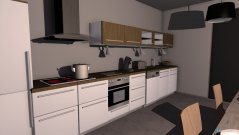 room planning Küche Lacko in the category Kitchen