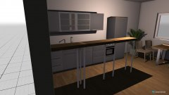 room planning küche test 1 in the category Kitchen