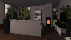 room planning Küche und Wohnzimmer in the category Kitchen