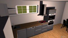 room planning KücheHapp in the category Kitchen