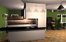 room planning kuhyna in the category Kitchen