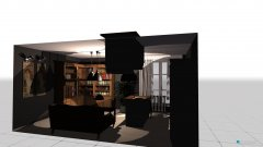 room planning Obyvka s kuchynou in the category Kitchen