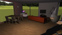 room planning Projektkurs Küche Wohnzimmer in the category Kitchen