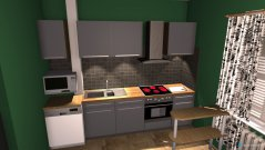 room planning Кухня in the category Kitchen