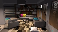 room planning blloku integral banesa tip 1(vazhdimi) in the category Living Room