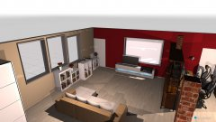 room planning Dachwohnung Schlauch weg in the category Living Room