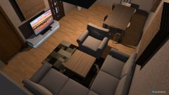 room planning dnevna 2 in the category Living Room