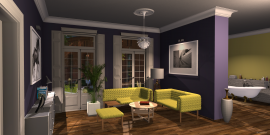 room planning Dulux Showroom in the category Living Room