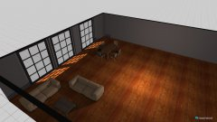 room planning duzy pokoj in the category Living Room