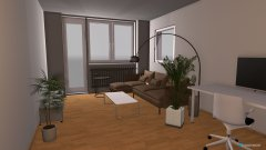 room planning Entwurf 5 Raumtrenner Beamer in the category Living Room
