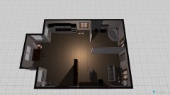 room planning erster Entwurf Gartenhaus in the category Living Room