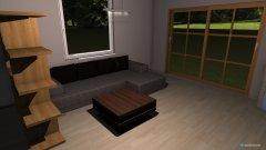 room planning Grundrissvorlage Quadrat in the category Living Room