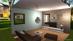 room planning Grundrissvorlage Quadrat in the category Living Room