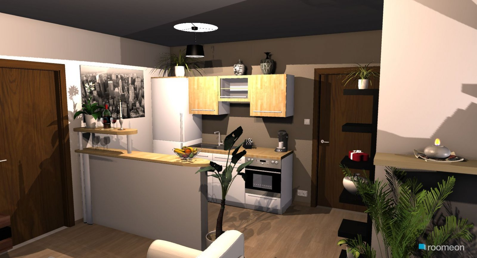 Room Design Kleine Wohnkuche Roomeon Community