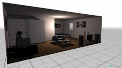 room planning L-form in the category Living Room