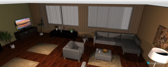 room planning LİVİNGROOM in the category Living Room