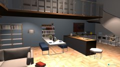 room planning Loft  in the category Living Room