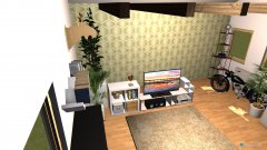 room planning Mansarda 2 in the category Living Room