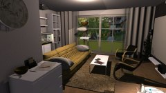 room planning Nijenrodestraat 30 - EG in the category Living Room