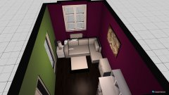 room planning POKOJ NR 2 in the category Living Room