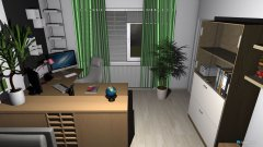 room planning Renovierung 2015 - Wohnstube - erster Entwurf in the category Living Room