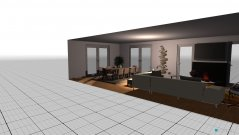 room planning sala jantar e estar in the category Living Room
