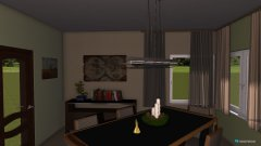 room planning Unser Häuschen in the category Living Room