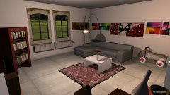 room planning Variante 1 in the category Living Room