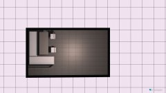 room planning Vikendica in the category Living Room