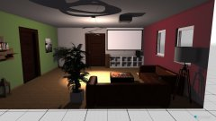 room planning Wohngruppe in the category Living Room