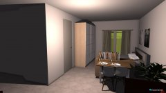room planning Wohnung Mitte Version 2 in the category Living Room