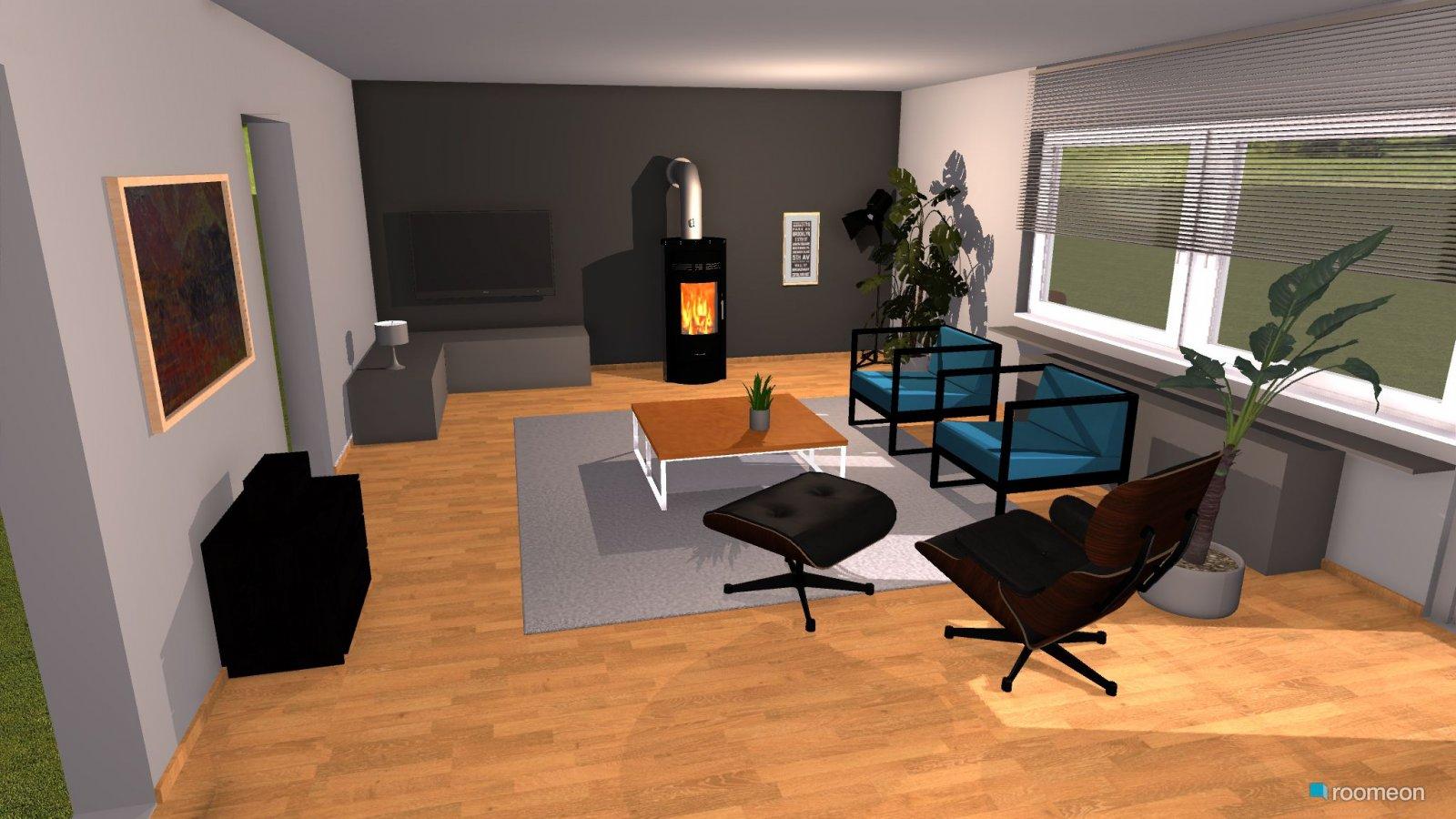 Room Design Wohnzimmer ohne Sofa - roomeon Community