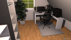 room planning Dustins Büro in the category Office