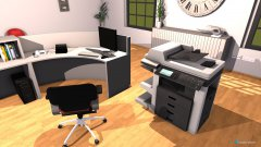 room planning EG Empfang in the category Office